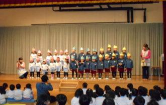 舞台の子ども達
